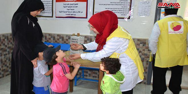 Comienza campaña nacional de vacunación contra la poliomielitis