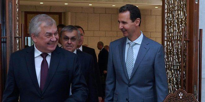 Presidente al-Assad: hay que trabajar para detener la agresión y retirar las fuerzas turcas y estadounidenses
