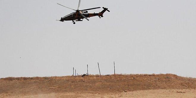 Régimen turco anuncia desplome de uno de sus helicópteros en el territorio sirio