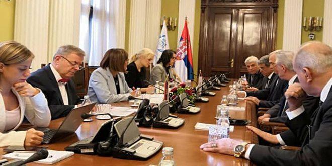 Siria y Serbia por afianzar sus relaciones parlamentarias