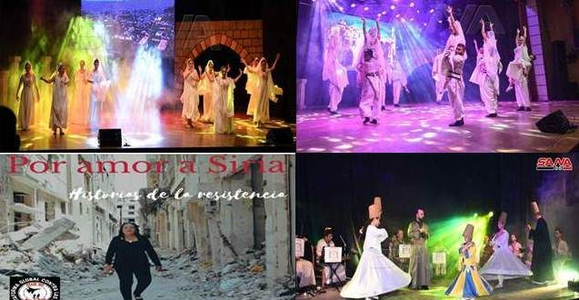 Acontecer cultural de Siria en una semana