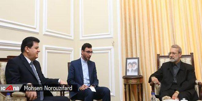 Lariyaní: Irán apoya la integridad territorial de Siria