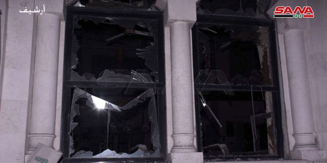 Terroristas acatan el barrio Hamdaniyeh de Alepo con cinco proyectiles de mortero