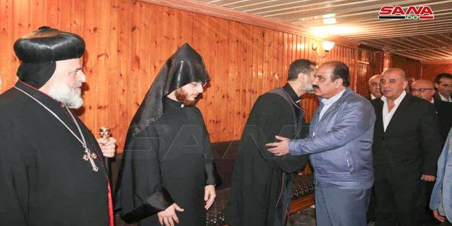 Al-Hilal expresa condolencias al arzobispo Evazian por el martirio del padre Bedo a manos de terroristas