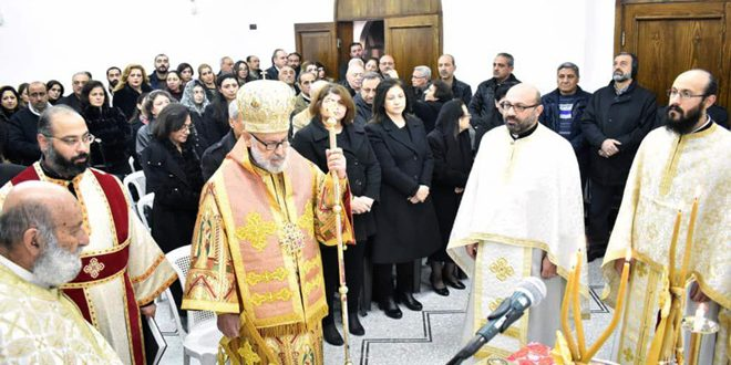 Realizan primera misa en iglesia en una zona liberada del terrorismo cerca de Damasco