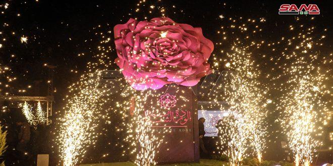 Los sirios festejan inclusión de la rosa siria en la Lista del Patrimonio Inmaterial de la Unesco