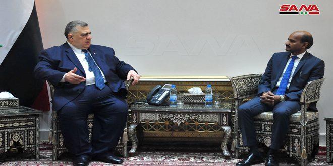 Sabbagh señala la importancia de reavivar las relaciones parlamentarias con La India