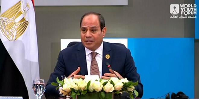 Siria recuperó su fuerza y hay que dejar de intervenir en sus asuntos internos, afirma presidente egipcio