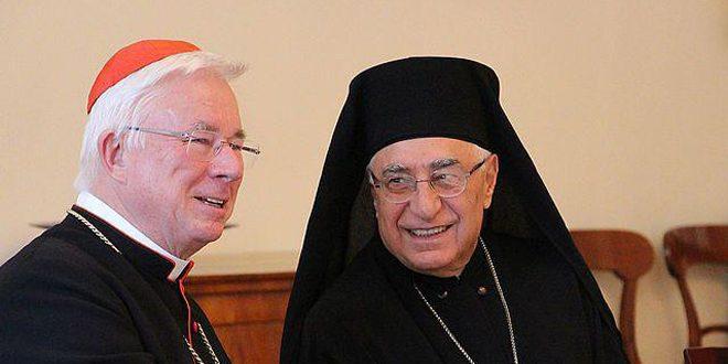 Patriarca de greco-católicos exige levantar las medidas económicas unilaterales impuestas a Siria