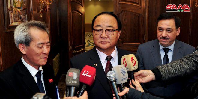 Comisión Mixta Sirio-norcoreana comienza sus reuniones en Damasco