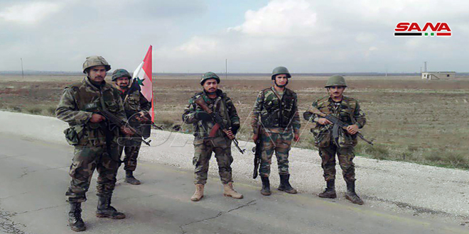 Reabren la carretera internacional Hasakeh-Alepo tras completar el despliegue del ejército