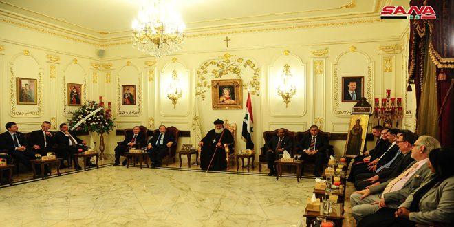 La Iglesia Ortodoxa siria denuncia efecto criminal del bloqueo y las sanciones sobre el pueblo sirio