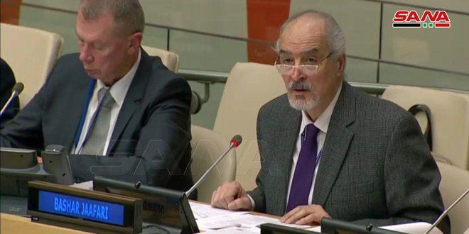 Algunos países pretenden repetir en Siria lo que sucedió en Iraq utilizando el pretexto de las armas químicas, afirma Jaafari