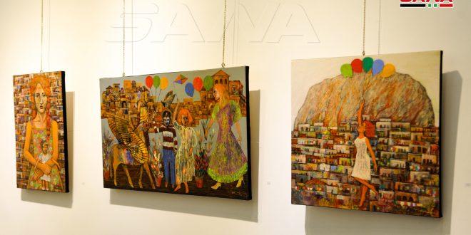 Con su arte Nabil Saman confirma que Siria resucitará y cantará victoria