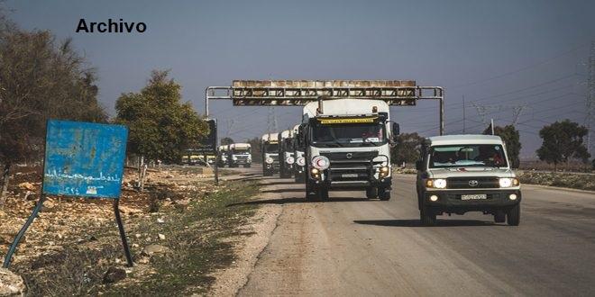 MLRAS ingresa más de 6 mil canastas de alimentos a nuevas localidades del campo de Deraa