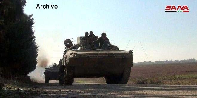 Fuerzas Armadas liberan del terrorismo a dos nuevas localidades en Idleb