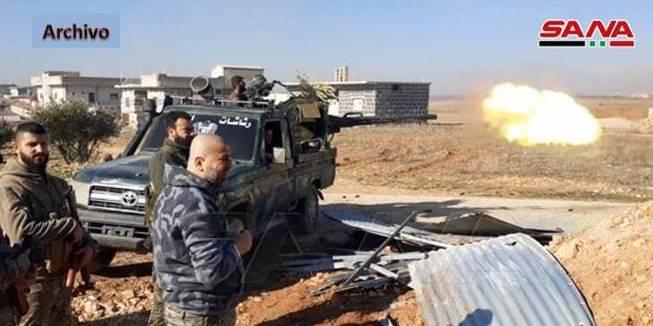 Ejércitorechaza nuevo ataque de los terroristas en el sudeste de Idleb