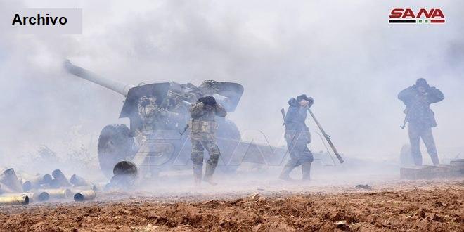 Ejército sirio rechaza ataques terroristas en varios frentes en la provincia de Idleb