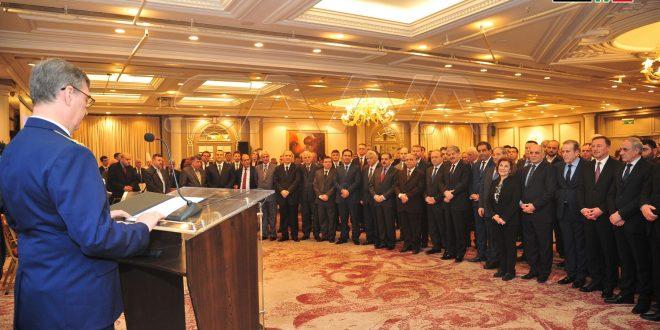 Embajada rusa en Siria organiza recepción con motivo del aniversario del ejército ruso