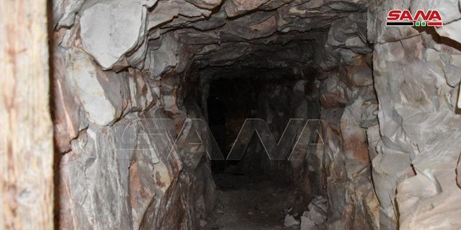 En fotos: Ejército halla una red de túneles construidos por terroristas en el sur de Idleb