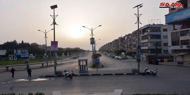 Tercer día del toque de queda en ciudad de Homs