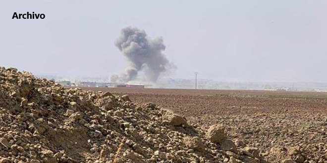 El ocupante turco y sus mercenarios bombardean localidades en provincia de Hasakeh, Siria