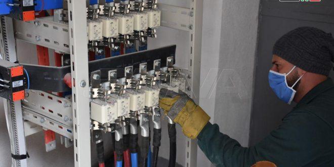 Restablecen electricidad para tres mil plantas industriales en la provincia de Alepo