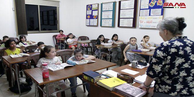 Centro cultural ruso en Damasco reanuda sus actividades tras varios años de cierre por la guerra
