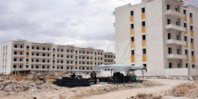 Inauguran vitales proyectos en provincia de Alepo