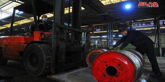 Constante producción pese a la guerra y el bloqueo Empresa Estatal de Cables