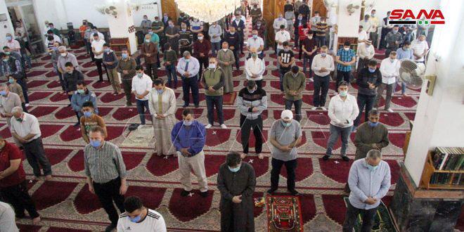 Ministerio de Asuntos Religiosos reabre mezquitas en Damasco y Damasco-campo