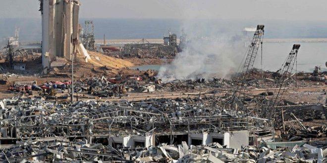 Parlamento de Siria se solidariza con El Líbano y con las víctimas de la explosión en el puerto de Beirut