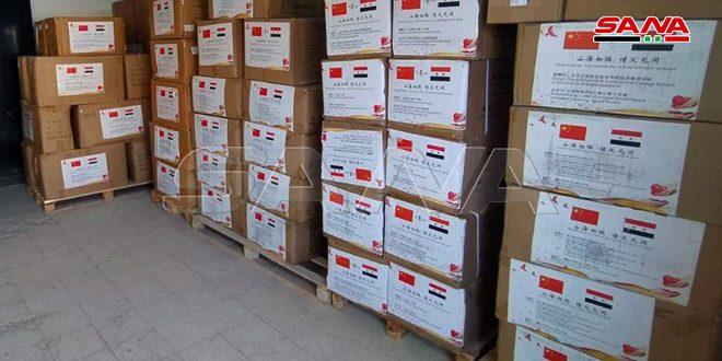 Siria recibe ayuda médica de China