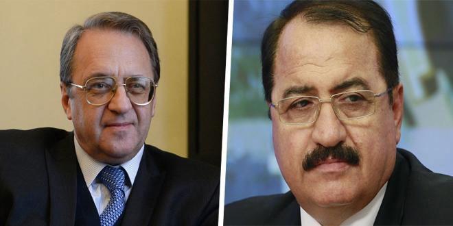 Bogdanov repasa con Haddad los últimos acontecimientos en Siria