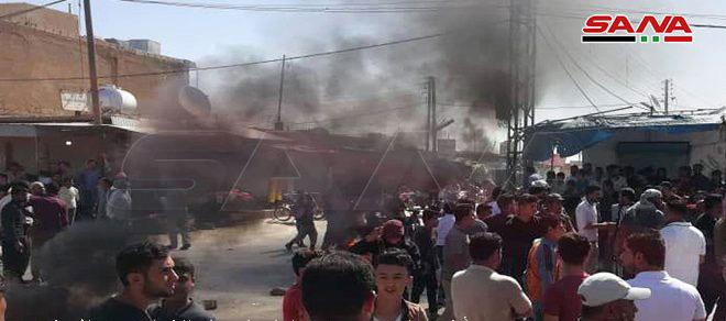 La milicia proestadounidense FDS secuestra a decenas de civiles en la provincia de Raqa