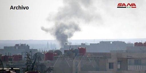 Bombardeos con artillería del ejército turco y sus mercenarios contra localidades en Hasakeh, Siria