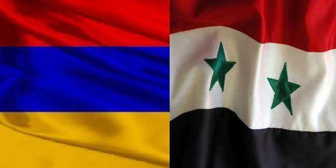 Siria y Armenia.. amistad histórica y posturas comunes sobre diversos temas