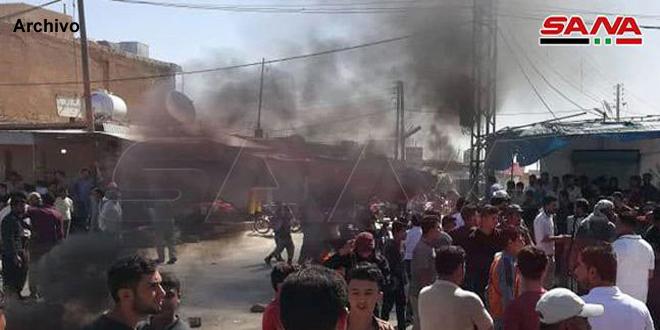 Abaten a tres integrantes de la milicia FDS en ataques en Hasakeh y Raqa