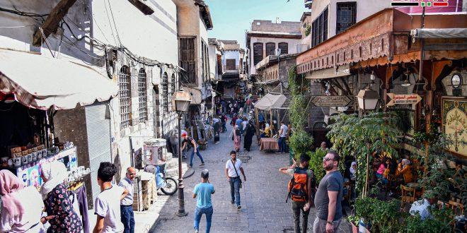 Ciudad de Damasco este lunes, 19 de octubre. (fotos)