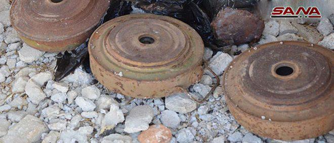 Tres civiles muertos por explosión de mina remanente de terroristas en Khan Shaikhoun, Idlib