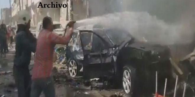 Un coche bomba estalla en la ciudad de Al-Bab en el norte de Alepo