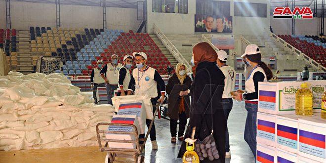 Consejo Empresarial Ruso-sirio brinda ayuda a familias afectadas por terrorismo en Damasco
