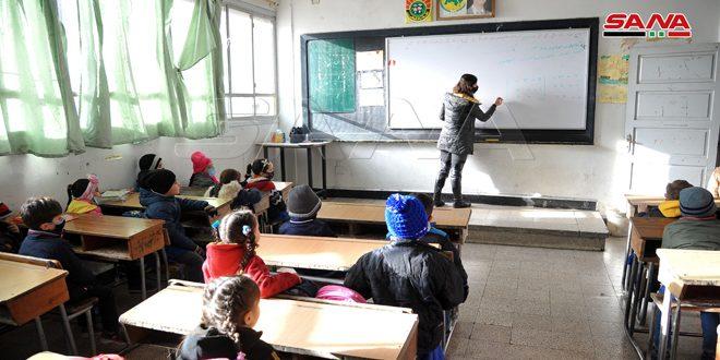 Millones de niños sirios comienzan hoy el segundo semestre del curso escolar (+fotos)