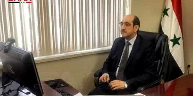 Sabbagh: la politización de las cuestiones humanitarias en Siria provocó incrementar el sufrimiento humano