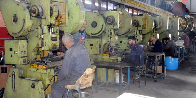 Nuevos logros hacia la recuperación industrial en Tal Kurdi (+Fotos)
