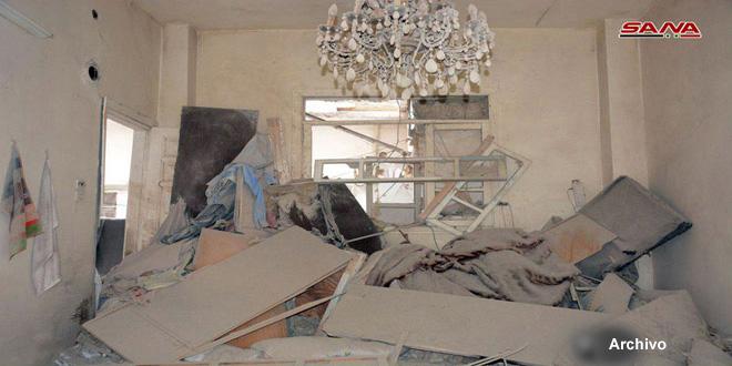 Ataque terrorista con cohetes contra la localidad de Jurin en provincia de Hama