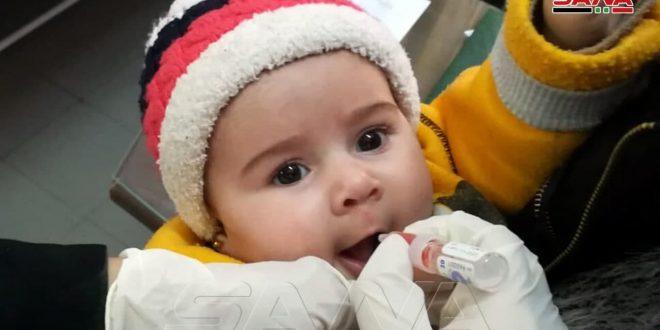 Dos millones 800 mil niños sirios serán inmunizados a partir de hoy contra la poliomielitis (+fotos)