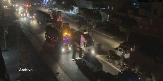 Ocupación estadounidense envía a Iraq 41 camiones cisterna con petróleo sirio robado