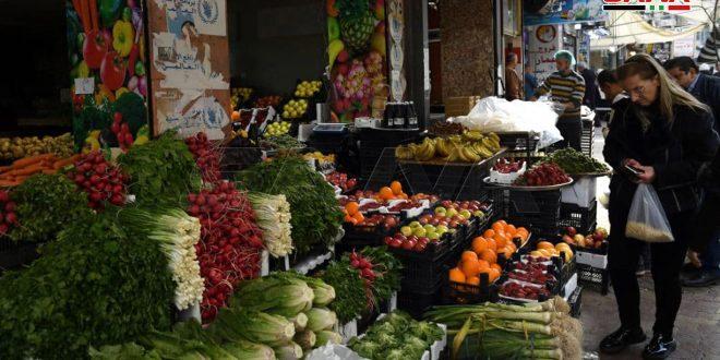 Mercados de las ciudades sirias un día antes del Ramadán (mes musulmán del ayuno)