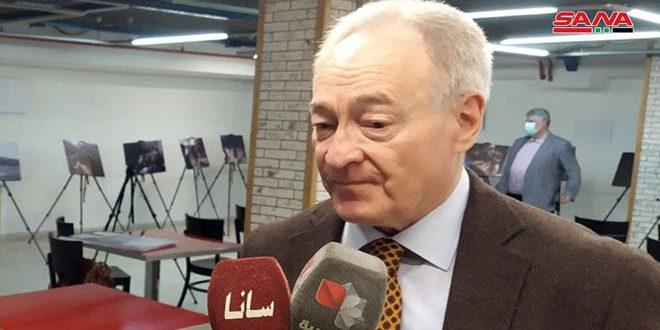 Berdnikov: las prácticas de saqueo de Washington en Siria son colonialistas